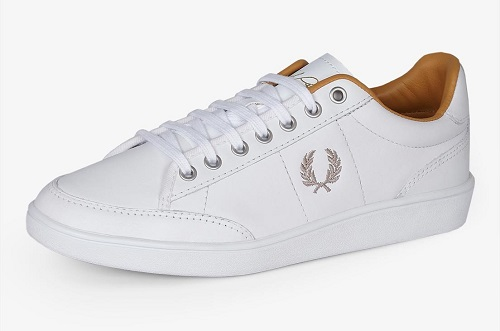Baskets blanches Fred Perry, 75£