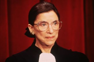 Ruth-Bader-Ginsburg-Court by Ron Sachs