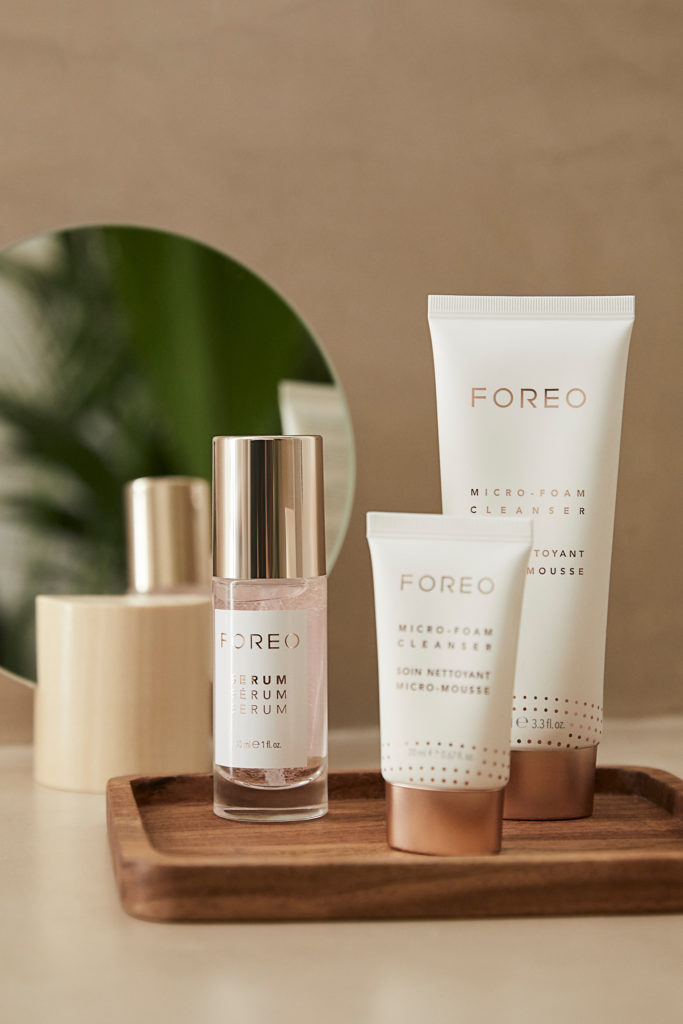 Serum SSS et Micro-Foam Cleanser