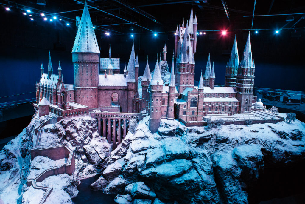 "Décoration de Noël au ""Making of Harry Potter"""