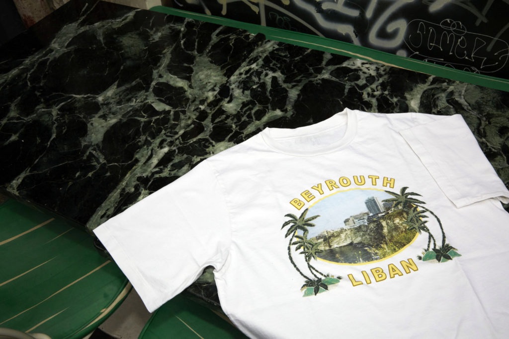 "T-shirt ""Beyrouth"""