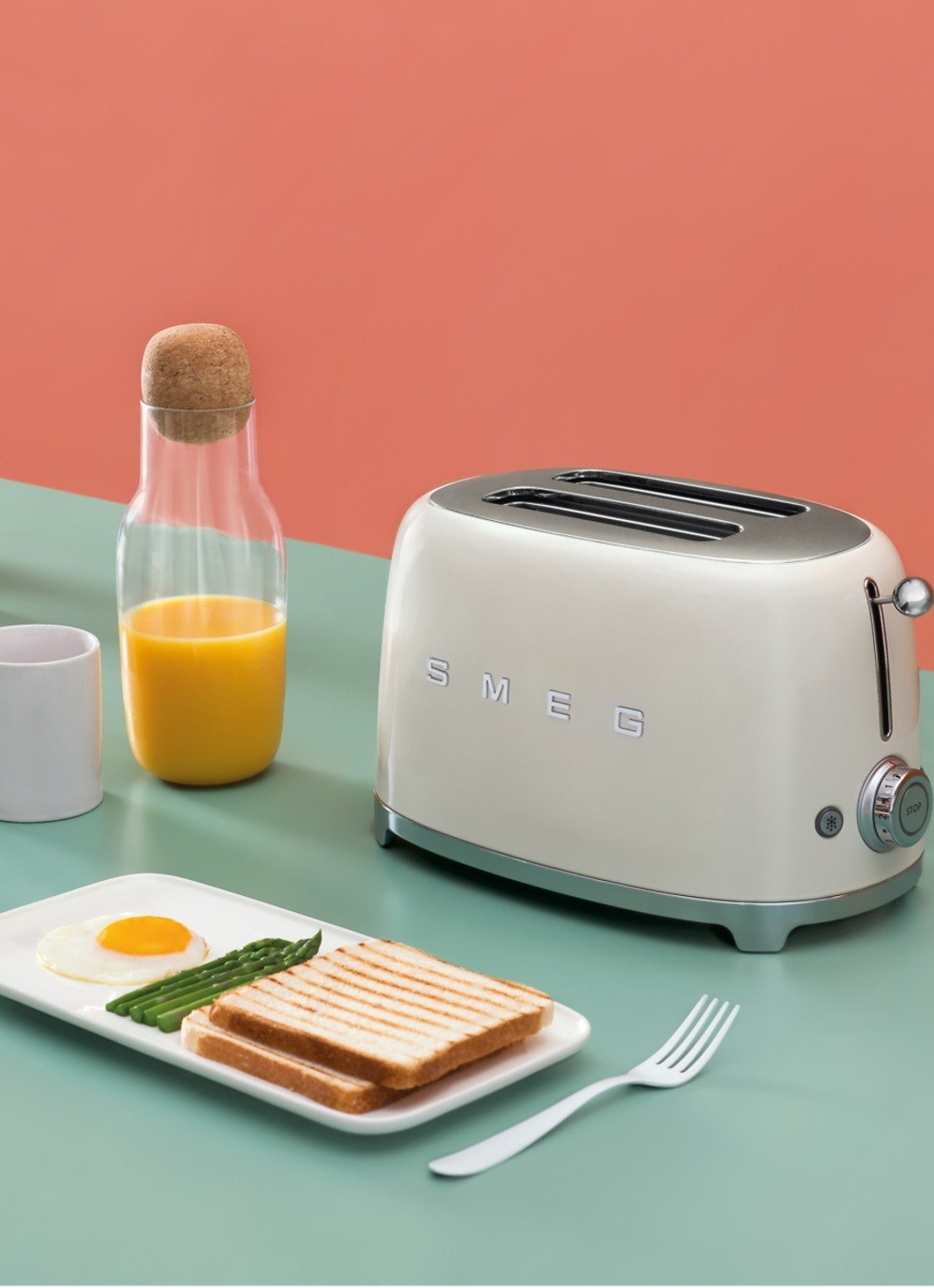 50's Style broodrooster SMEG