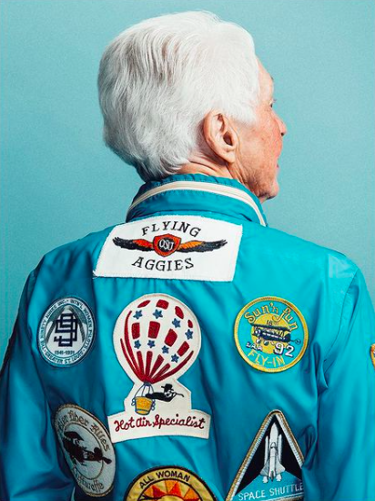 Wally Funk pour Texas Monthly