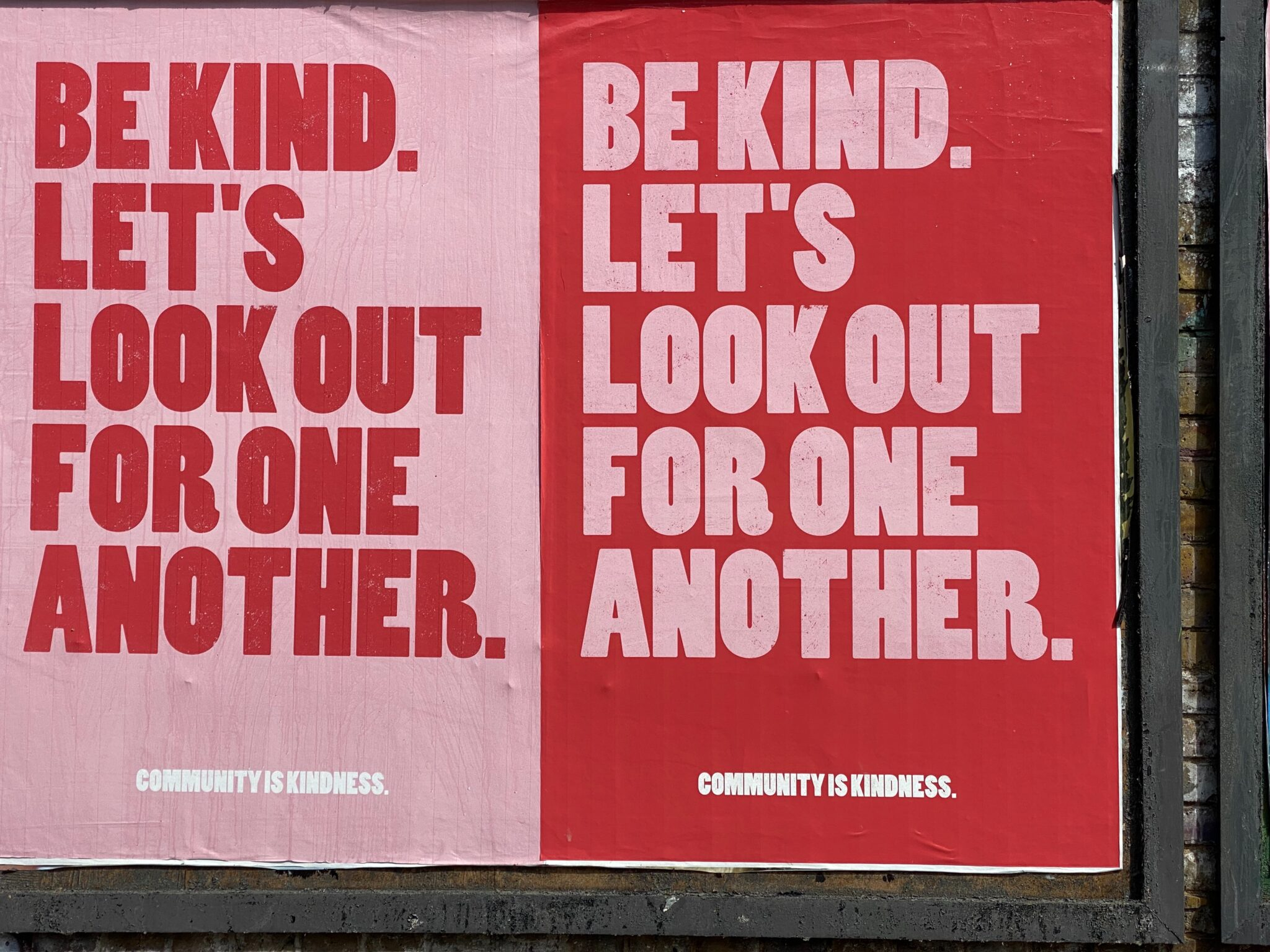 """Affiches """"Be Kind"""""""